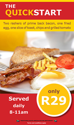 The QUickstart Breakfast Deal